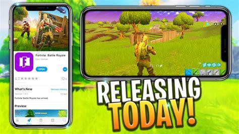 fortnite mobile release     code iosandroid