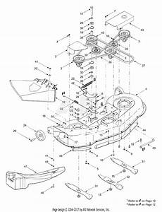 Mtd 13at688h131  2003  Parts Diagram For Deck Assembly  U0026quot H U0026quot