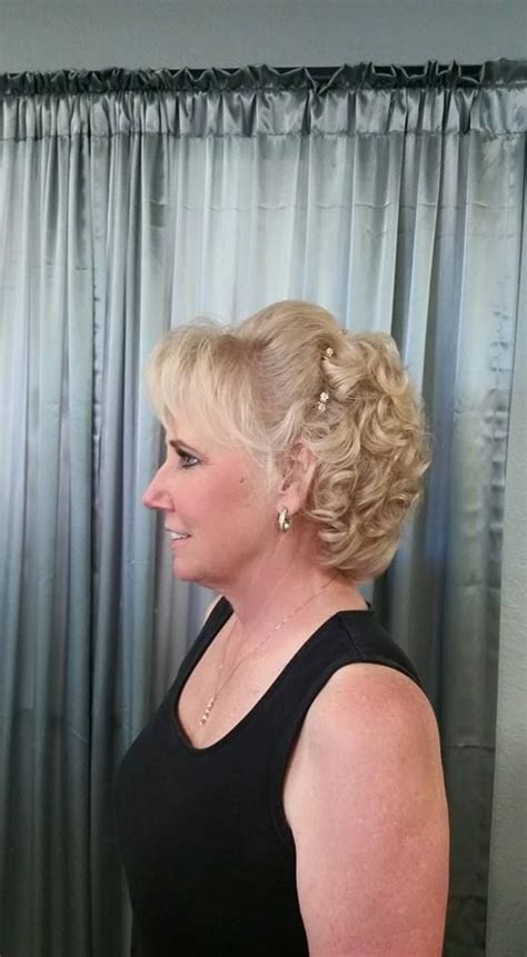 mother bride hair style melony terry wedding