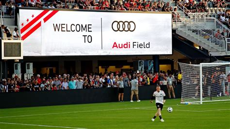 dc united audi field marred  reporter injury wifi problems