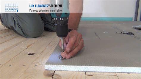lux elements montage element panneau polyvalent sur