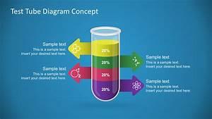 Free Test Tube Diagram Powerpoint Concept