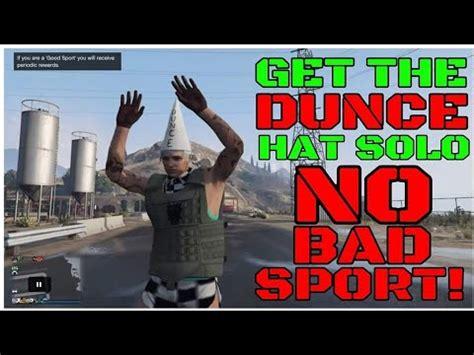 gta   save dunce cap glitch  bad sport
