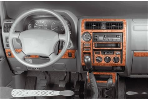 Toyota Prado Interior Dashboard Trim Kit
