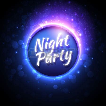 glow party clipart