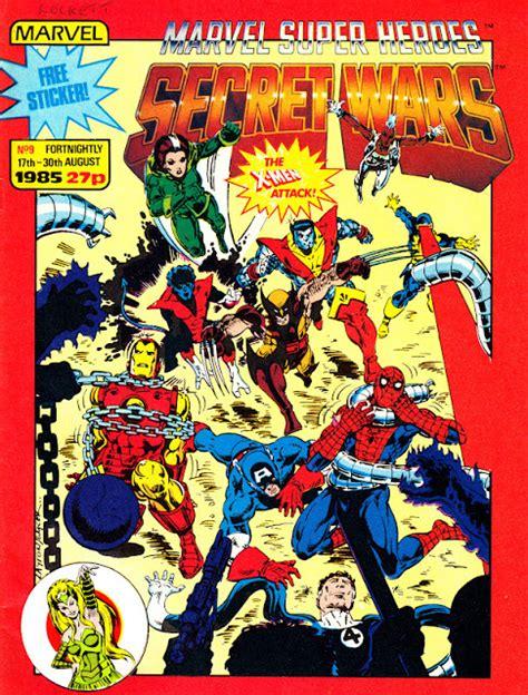 STARLOGGED - GEEK MEDIA AGAIN: 1985: MARVEL SUPER HEROES ...