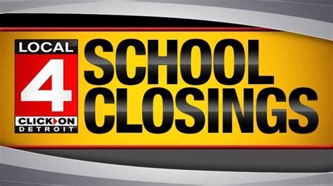 School Closings In Metro Detroit
