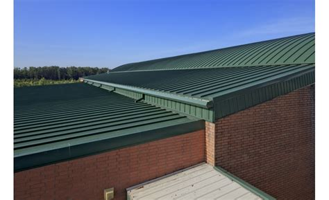 onsite fabrication  metal roof created  installed