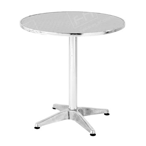 bistro table hire chrome table hire the uk