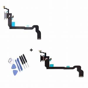 Iphone X Charging Usb Dock Charger Port Flex Cable Replacement