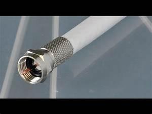 Tv Über Kabel : f stecker f pressstecker auf koaxialkabel richtig montieren sat kabel tv youtube ~ Orissabook.com Haus und Dekorationen