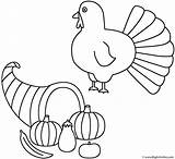 Coloring Horn Plenty Thanksgiving Turkey Fall Pages Autumn Horns Activity Template Precious Moments Pilgrim Happy Getcoloringpages Bigactivities Drawing sketch template