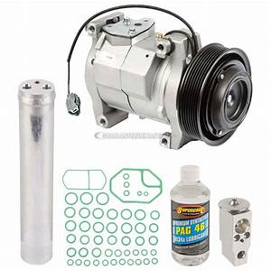 2003 Honda Accord A  C Compressor And Components Kit 2 4l Engine