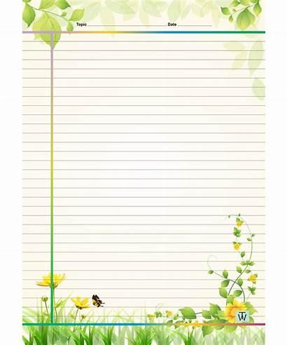 Sheets Designer A4 Line Single Cm Designs