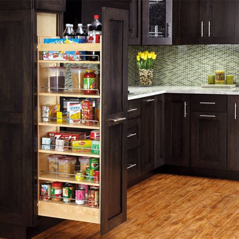pantry cabinet with pull out shelves rev a shelf tall wood pull out pantry with adjustable