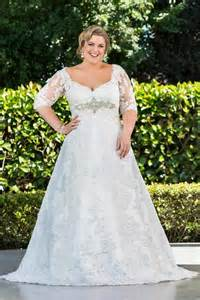 plus size wedding dresses with sleeves or jackets modest plus size lace 2016 wedding dresses half sleeve sheer illusion a line beaded bridal