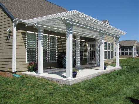 deluxe freestanding coolbreeze aluminum pergola www nexaninc aluminum pergolas
