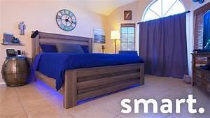 Epic smart home bedroom tech tour youtube for Hometown bedroom furniture kolkata