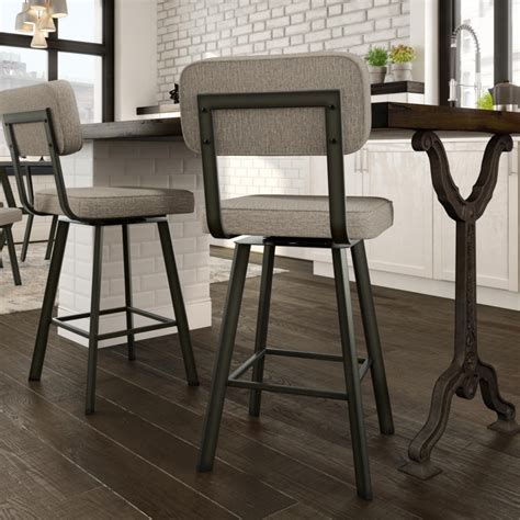 brixton swivel stool home envy furnishings solid wood furniture store