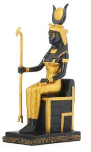 Ancient Egyptian Goddess Isis Statue