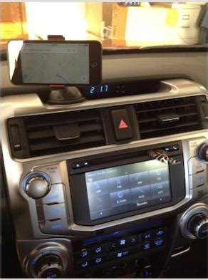 recommendation  iphone mount toyota runner forum
