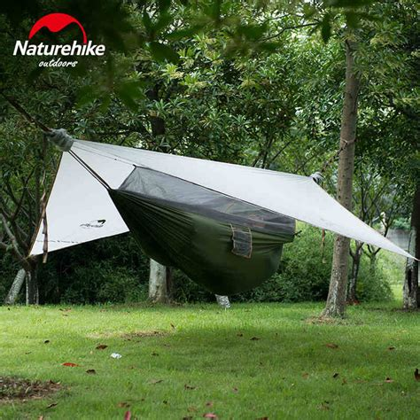 Hanging Hammock Tent by Brand Naturehike Factory Sell Outdoor Hammock With Bed Net