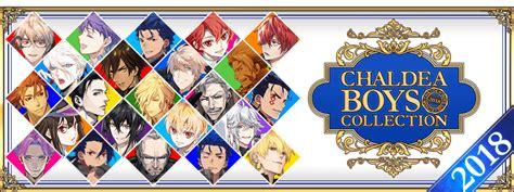 chaldea boys collection  fategrand order wikia