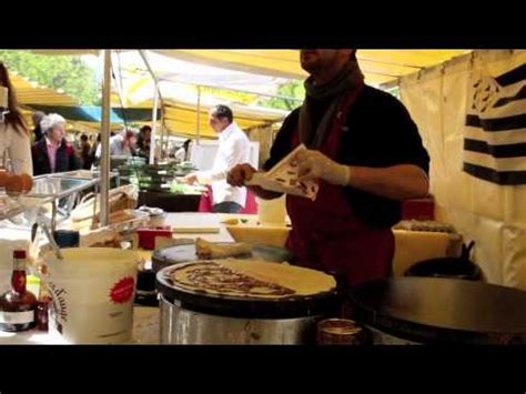 crepe stand  paris youtube