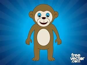 Design Symbols Pdf Happy Cartoon Monkey