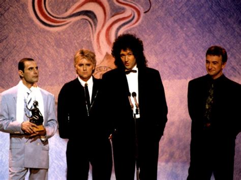 1990 Brit Awards And 20th Anniversary Queen