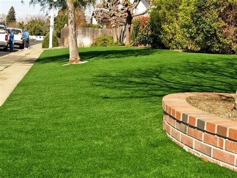 artificial grass front yard artificial or synthetic grass installation
