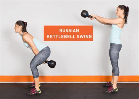 kettlebell swing arm single body tighten workouts tone entire reps