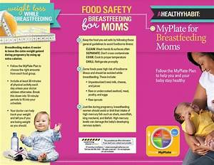 myplate for breastfeeding moms tri fold brochures With breastfeeding brochure templates