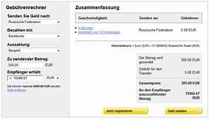 Western Union Gebühren Berechnen : faq zahlung per berweisung western union ~ Themetempest.com Abrechnung
