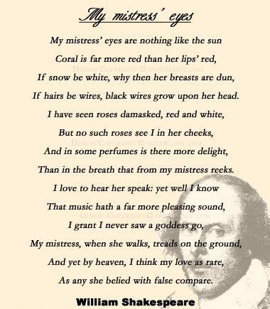 william shakespeares sonnet   picks