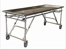 Stainless Steel Folding Embalming Table