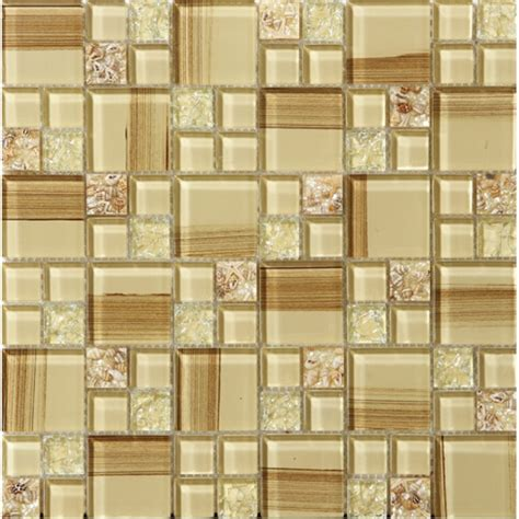 Decorative Bathroom Tile - crackle glass tile paint cystal glass resin with