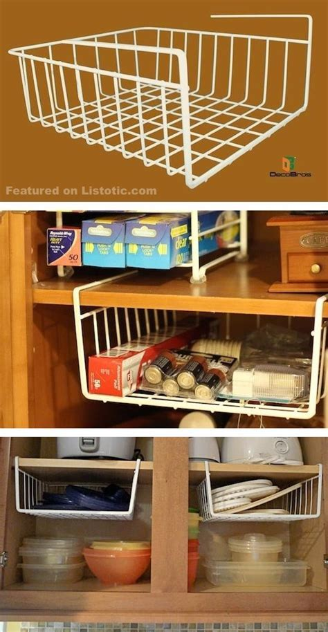 12 Easy Kitchen Organization Ideas For Small Spaces (DIY