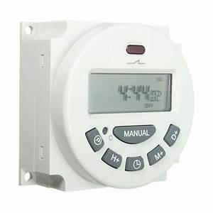 Excellway L701 12v  110v  220v Lcd Digital Programmable