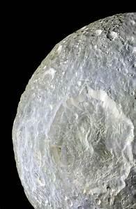 NASA - Color Near Herschel Crater