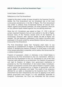 First Amendment Essays Describe Myself Essay First Amendment Freedom  First Amendment Freedom Of Speech Essays