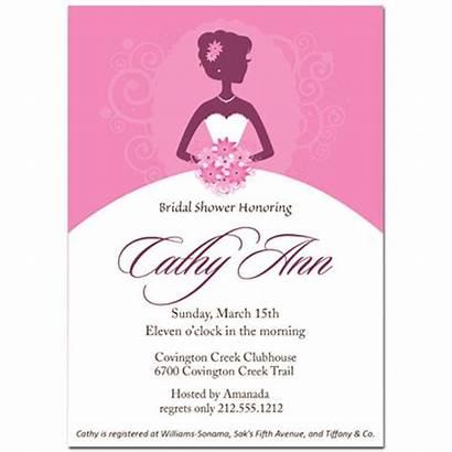 Bridal Shower Invitations Invitation Bride Template Templates