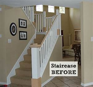 Before & After: Jennifer's DIY Staircase Makeover - Hooked