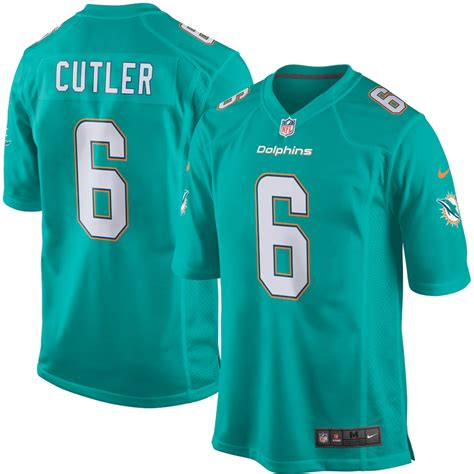 youth nike jay cutler aqua miami dolphins game jersey