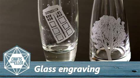 engrave glass   dremel beginners tutorial