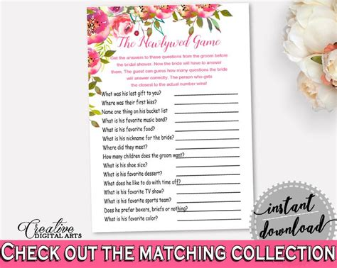 Newlywed For Bridal Shower - best 25 bridal shower newlywed ideas on