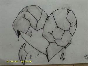 Nice Pic Of Pencil Sketches Broken Heart - Drawing Of Sketch