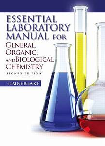 Timberlake  Essential Laboratory Manual For General