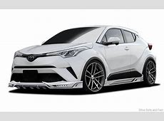 Rowen International Toyota C HR RR Widebody Tuning – Drive