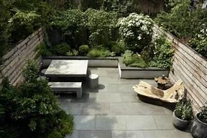 Terrassen Und Gartengestaltung : terrassen und gartengestaltung bei einem haus in brooklyn ~ Sanjose-hotels-ca.com Haus und Dekorationen